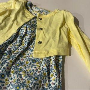 Carter's Baby Girl Sundress & Sweater Set